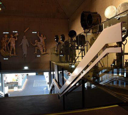 Filmimuuseum klaaspiirded